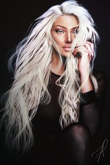 Kiria Oliveira (Alicy Doutzen) Tags: singer pop sl second life secondlife world baby love hair blonde plat girl woman god is quality hd forever beauty photo photograpy