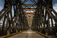 Road bridge in Tczew (Magda Banach) Tags: 19thcentury canon canoneos5dmarkivmosttczewski europa tczew bridge old outdoor outside poland roadbridge