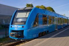 World's First Hydrogen Train (Linus Follert) Tags: alstom coradia ilint buxtehude bremerhaven wasserstoff hydrogen