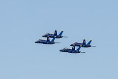 281/365  Blue Angels leaving Oakland International for Minden-Tahoe Airport