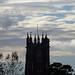 Storm Callum approaches - St Andrew's Church, Cullompton, Devon - Oct 2018