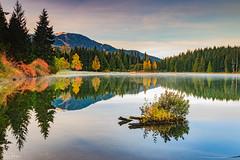 Reflection (michaelsabijon) Tags: lakes landscape reflection canoncanada whistler beautfulbritishcolumbia sigma eos7d