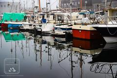Foggy Reflections (fentonphotography) Tags: faroeislands tórshavn streymoy fo focusstacking boats reflections water harbor transportation