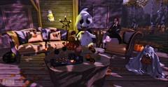 #209 - Witch's Corner. 🍁 (rhavena.rasmuson) Tags: yd disorderly witch decor wednesday hallowen halloween2018 cute pumpkin raindale follow4follow follow4followback fav4fav fantasy secondlife secondolife secondlifeavatar secondlifeonline dark gamesonline like4like lolita postflickr mesh follow game decorpumpkin slavi slavatar avatar avi post pumpkins decoration life second d adams house vamp vampire food gift nigthmaregift hunt