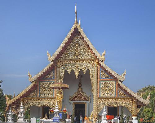 Wat Phra Singh Phra Wihan Luang Gable (DTHCM0238)