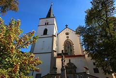 Litomyšl, Church of the Uprising of the Holy Cross (ZdenHer) Tags: litomyšl church architecture czechrepublic canonpowershotg7xmarkii
