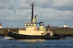 Seal Carr -- Leith -- 28-10-18 (MarkP51) Tags: sealcarr portofleith leith scotland tug ship boat vessel nikon d7200 nikon70200f4vr sunshine sunny maritimephotography