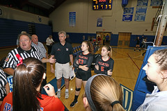 IMG_8384 (SJH Foto) Tags: girls high school volleyball garden spot palmyra regional semifinals canon 1018 f4556 stm superwide lens pregame ceremonies ref referee captains coin toss