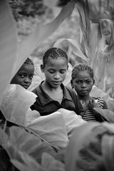 Girls, Taro and Corn (Rod Waddington) Tags: africa african afrique afrika äthiopien ethiopia ethiopian ethnic etiopia ethnicity ethiopie etiopian saware village wollaita wolayta wollayta tribe traditional culture cultural children girls corn taro blackandwhite monochrome mono people group