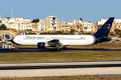 IMG_8785a_Blue Panorama B767-35H ER_reg 9H-KIA_cn 26389_LMML_021018 (pacemedia.TV) Tags: bluepanorama aviation aviationphotography avgeeks boeing boeing767 9hkia lmml malta airline registration