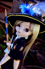 Pirate | Pullip Assa (·Kumo~Milk·^^) Tags: pullip assa wendy rewigged wig obitsu doll junplanning groove pirate