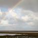 Rainbow over the Wadden Sea