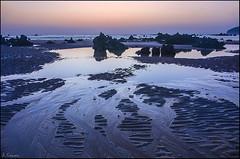 Amanecer (antoniocamero21) Tags: paisaje marina amanecer foto color sony reflejos rocas trengandín noja cantabria