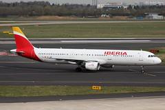 Iberia (ab-planepictures) Tags: eddl dus düsseldorf flugzeug flughafen airport aircraft plane planespotting aviation
