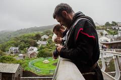 Owain Glyndwr Weekend 2018 (Coed Celyn Photography) Tags: knights knight armour reenactment larp medieval re enact harlech castle north wales gwynedd snowdonia eryri cymru cymraeg living history three portrait bridge leaning