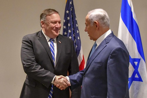 Secretary Pompeo Meets With Israeli Prime Minister Netanyahu, From FlickrPhotos