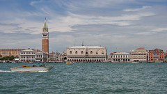 The elegant City (lars_uhlig) Tags: 2018 venice italy canalegrande sanmarco boat cathedral doge palace water