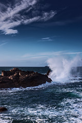 Ploumanac'h (Amanda Hinault - Photo contemplative) Tags: paysage landscape nature sea mer beach rochers rocks ccbysa photobyamandahinault creativecommons fuji xt1 bretagne brittany cotesdarmor trégor