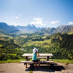 Mountains (Zeeyolq Photography) Tags: woman albiezmontrond mountains savoie landscape nature relax alps auvergnerhônealpes france fr