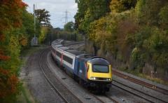 43480 (Lewis_Hurley) Tags: leicestershire england uk passenger diesel fast midlandmainline train railway barrowuponsoar 1b58 mtu eastmidlandstrains emt highspeedtrain hst 43480 class43 43