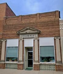 Journal, Nevada, IA (Robby Virus) Tags: nevada iowa ia journal building architecture newspaper rh investments george oscar benjamin