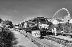 68008 (R~P~M) Tags: train railway diesel locomotive 68 chilternrailways arriva drs directrailservices depot wembley london england uk unitedkingdom greatbritain