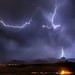 My apartment in Bullhead City, Arizona is great for lightning photography.