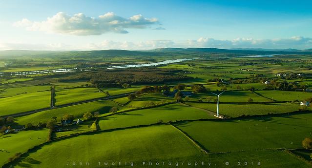 ireland foyle co tyrone donegal border irish river blue green drone phantom advanced pro strabane twohig john photography foylemedia derry north south east west dji land northern arial