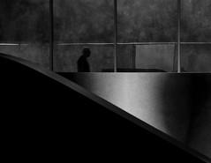 l i m i n a l i t y (Gaia Rampon) Tags: urban zahahadid architecture contemporary noiretblanc white black blackandwhite colorless colorblind nonplaces nonlieux liminalspaces liminality neitherherenorthere bnw streetphoto nikon nikkor
