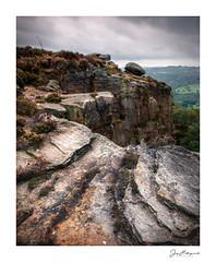 Derbyshire Grit (jholls84) Tags: supriseview derbyshire millstones gritstone cliff rock hathersage netherpadley