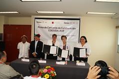 FIRMA DE CONVENIO ENTRE AHF Y COESIDA CAPASITS OAXACA