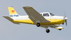 Piper PA-28-161 HB-PNM Flugschule Basel (William Musculus) Tags: airport spotting bsl mlh eap basel mulhouse euroairport freiburg lfsb piper pa28161 hbpnm flugschule pa28