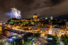Quebec City (Aaron_Smith_Wolfe_Photography) Tags: quebec castle fireworks disney canada