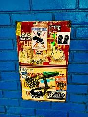 Priority Mail - NYC (verplanck) Tags: bricks nyc manhattan graffiti streetart chelsea