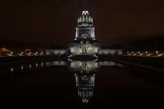 Völkerschlachtdenkmal (Uwe 62) Tags: leipzig langzeitbelichtung nikond3300 nachtaufnahmen