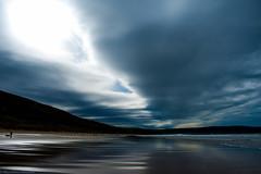 Woolacombe, North Devon (megan.jl.palmer) Tags: beach northdevon woolacombe surf cloudy autumn sand sea surfer dunes rain wind storm