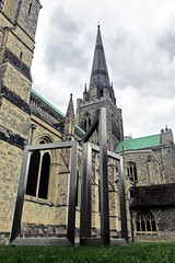 Chichester Cathedral (Jainbow) Tags: sculpture dianemaclean chichester cathedral chichestercathedral jainbow