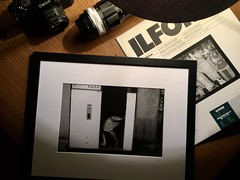 Florence June 2018 (M.W. Photo GraPhy) Tags: fineart frame wood print darkroom florence f4s nikon panf50 ilford