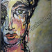 """Reflection"" by Cassandra C, acrylic, $120.00"