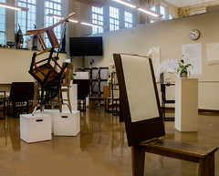 wcowley_Porter_flex_4 (wctres) Tags: pittsburg state university gorillas kansas porter department art building student classroom drawing structure stilllife chairs artwork