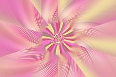 JLF1574 Pink Mill (jlfractal) Tags: exploradorff fractal fractalart julofi monocolour pink spiral geometry circle