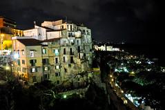 Tropea by night (Valdy71) Tags: tropea calabria italy italia sea city night nikon valdy light