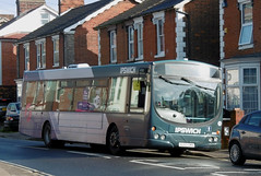 First AU05DMX 29 March 2018 (The original SimonB) Tags: transport buses ipswich suffolk march 2018