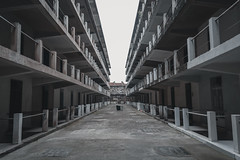 (·Nicolás) Tags: perspective architecture cementery lines grey cloudy outside cold empty nopeople