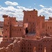 Kasbah of the abandoned town Ait Benhaddou in Southern Morocco