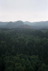 Sicht vom Kuhstall (MarieHM) Tags: sächsische schweiz leica iiic kuhstall