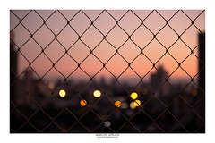 [ Blur ] (Marcos Jerlich) Tags: sunset city skyline sky blur bokeh urban dof light colorful fence contrast sorocaba brasil october américadosul canon canont5i canon700d efs55250mm marcosjerlich