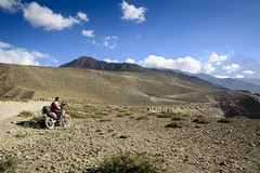 upper mustang (ujjal.maharjan) Tags: nepal mountains himalaya ride bikeride adventure adrenaline river landscape sky lifestyle travel journey forest cycling muktinath temple shrines religion water sprouts horse hidden kingdom vegetation