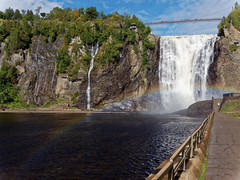 Montmorency Falls, Quebec (steverh) Tags: canada quebec montmorency falls waterfall chute rainbow