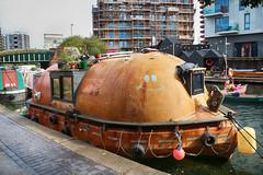 The Happy LIfeboat (eibonvale) Tags: london regentscanal islington boat canal waterway